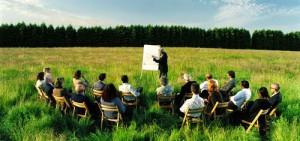 meeting outdoor